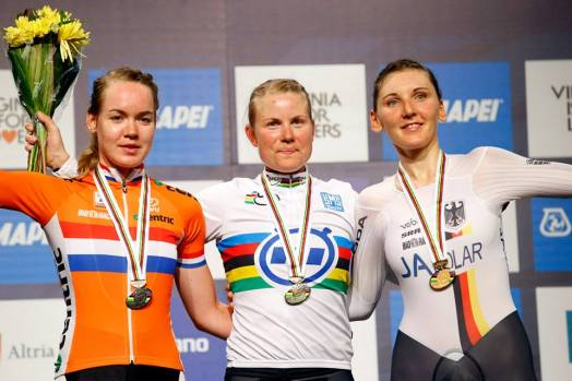 Apenas cinco segundos separaron el oro del bronce, en la CRI femenina élite.