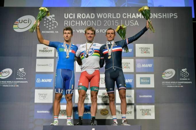 El podio, inesperado, pero muy merecido por lo visto en la ruta.
