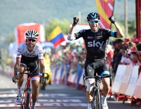 Nicholas Roche le dio la primera victoria parcial al defenestrado Team Sky.