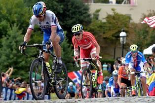 Sagan no fue protagonista sino hasta el mismísimo final de la prueba.