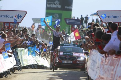 Fränk Schleck supo escoger el mejor lugar para desprender a Torres, y se quedó con la etapa.Fränk Schleck supo escoger el mejor lugar para desprender a Torres, y se quedó con la etapa.