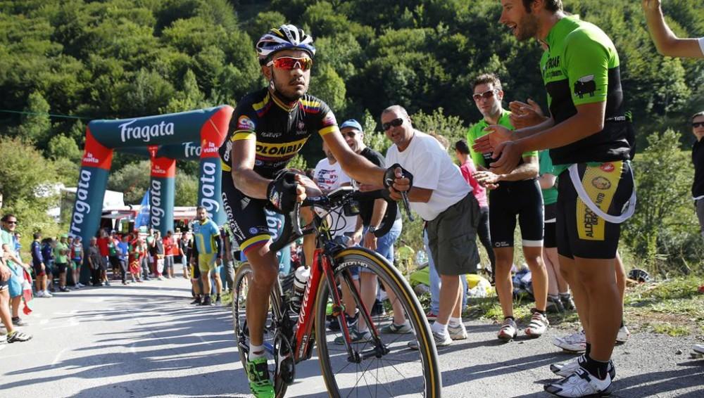 Rodolfo Torres llegó como gregario del Team, pero es, lejos, el mejor de los puros criollos.