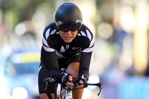Villumsen no solo fue la más rápida, su desempeño técnico sobre la máquina fue impecable.