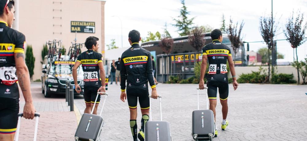 Corredores del Team Colombia © Handout Team Colombia