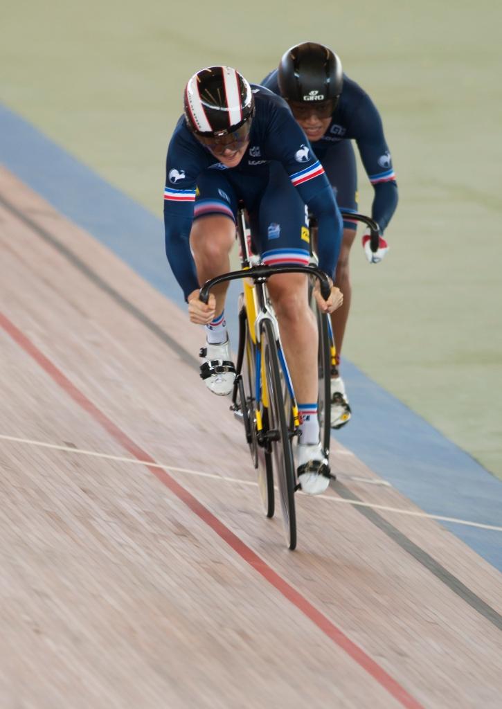 La dupla francesa se quedó décima en la clasificación. 2015 © LaCadenilla.com
