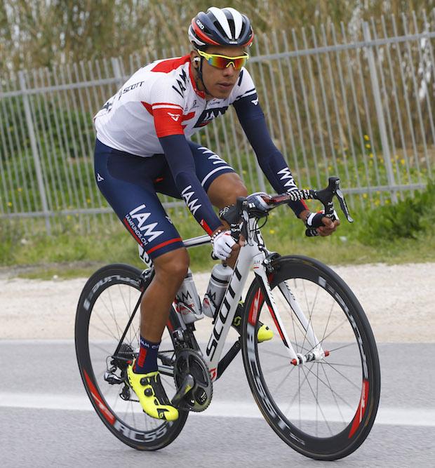 Pantano sobre su Scott Addict © Handout IAM Cycling