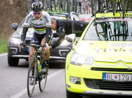 Peter Sagan va a tenerla difícil para superar el sino del jersey arco iris.