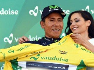 Quintana ha subido al podio final de las tres carreras WorldTour que ha disputado este año. Dos veces como campeón © Handout Team Sky