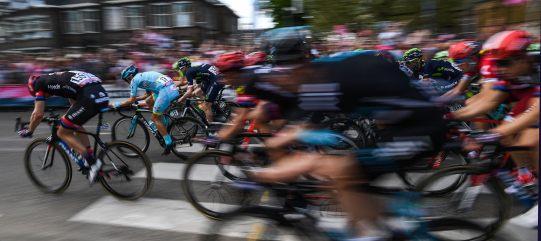 La segunda de tres jornadas de ciclismo en las carreteras holandesas © Handout RCS Sport