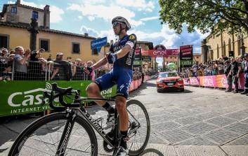 El corredor del Etixx consiguió su primera etapa en una Gran Vuelta © Handout RCS Sport