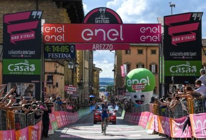 Arezzo quedará por siempre en la memoria de Gianluca Brambilla © Handout RCS Sport