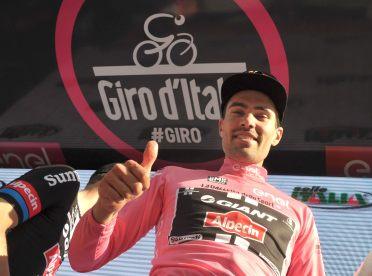 Dumoulin saldrá vestido de rosa a correr la 3ª etapa, pero quiere ceder ese privilegio © Handout RCS Sport