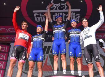 Excelente presentación del Etixx en la 99ª edición del Giro © Handout Etixx Quick Step