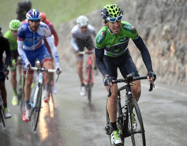 Desde España han llovido las críticas sobre Quintana, por supuestamente arrebatarle el liderato a Izaguirre © Handout Movistar Team