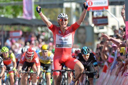 Kittel celebra la 2ª del Giro 2016 © Handout RCS Sport