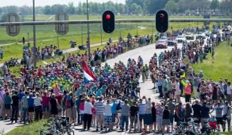 El Giro se despide de Holanda, agradecido por la acogida de los fanáticos © Handout RCS Sport