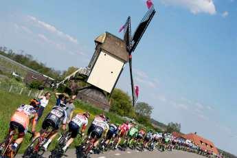 El tradicional paisaje holandés © Handout RCS Sport