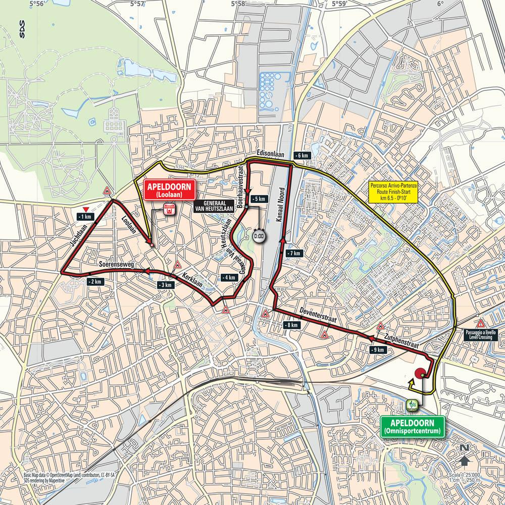 Apeldoorn será el telón de fondo de la CRI que abre el Giro 2016.