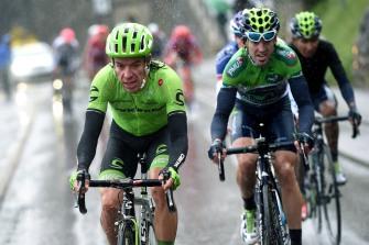 Rigoberto Urán templó las piernas antes del Giro 2016 © Handout Movistar Team