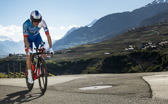 Thibaut Pinot hizo la mejor crono de la carrera © Handout Tour de Romandie