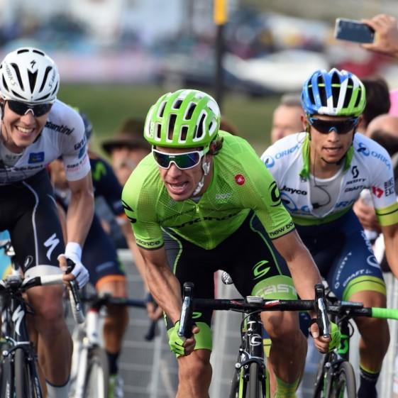 Rigo se mostró inteligente y con piernas para responder al remate de la etapa © Handout Slipstream Sports