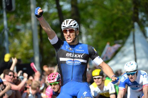 Primer embalaje victorioso de Marcel Kittel en el Giro © Handout RCS Sport