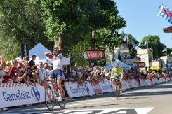 Imbatible en el embalaje, se mostró Jarlinson Pantano, vencedor de la 15ª etapa de la Grand Boucle 2016 © Handout A.S.O.