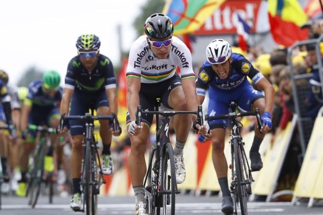 La de Sagan de hoy, es la primera victoria en una etapa del Tour en los últimos 3 años © Handout Movistar Team