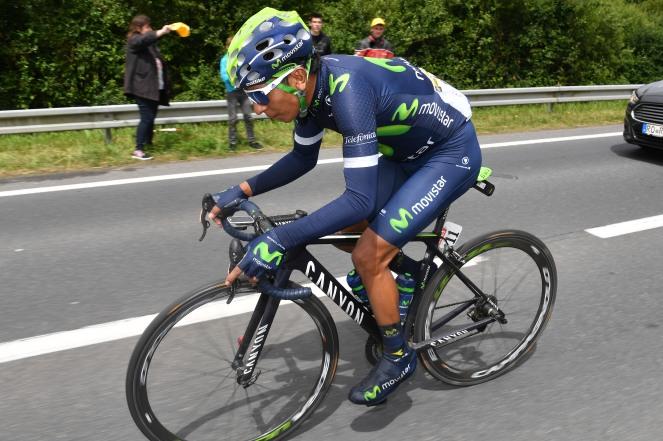 Nairo se metió al Top 10, con un séptimo puesto. 14 segundos lo separan de Sagan. Los mismos de Froome © Handout Movistar Team