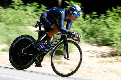 Nairo Quintana controló los daños en un día que estaba marcado en rojo en el calendario © Handout Movistar Team