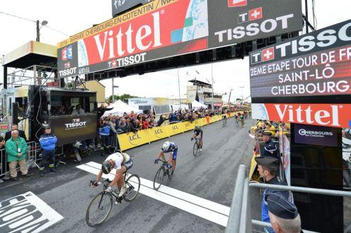 Peter Sagan vence a Julian Alaphilippe © Handout A.S.O.