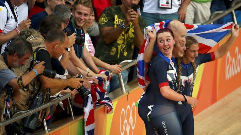 Celebran las británicas uno más de los seis oros de Gran Bretaña en la pista