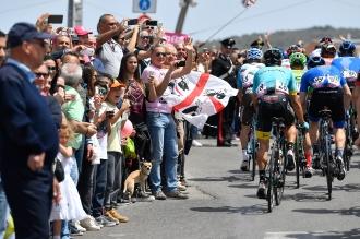 Giro d'Italia 2017 - 100a edizione - Tappa 1 - da Alghero a Olbia - 206 km ( 128 miglia )