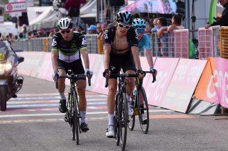 Giro d'Italia 2017 - 100a edizione - Tappa 9 - da Montenero di Bisaccia a Blockhaus - 152 km ( 94,4 miglia )