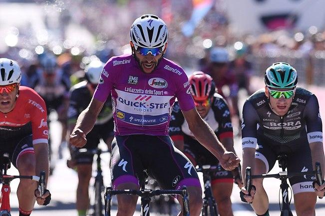 Giro d'Italia 2017 - 100a edizione - Tappa 13 - da Reggio Emilia a Tortona - 167 km ( 103,7 miglia )